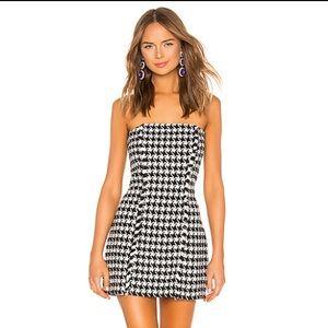 BRAND NEW Revolve Black and White Dress
